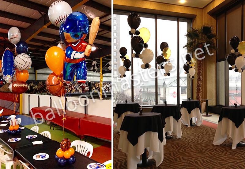 Balloon Masters Balloon Centerpieces In Buffalo