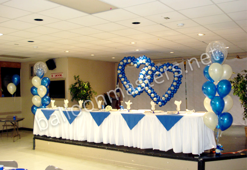 Buffalo Balloon Centerpieces