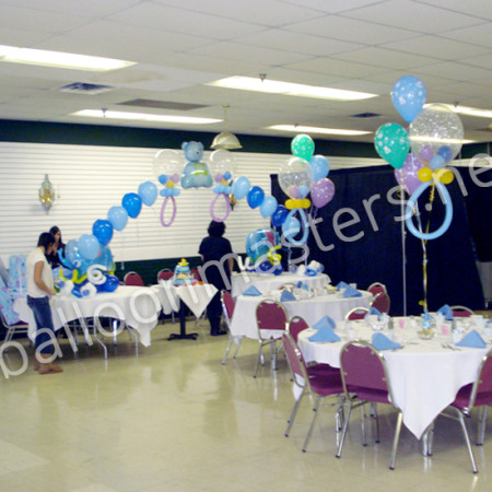 Balloon Baby Shower Decoration